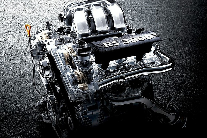 Hyundai New High-Performance V6 Lambda RS Engine for Genesis Coupe