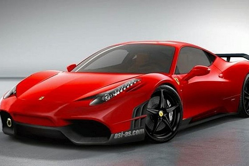 Ferrari 458 Italia Initial Design Renderings by ASI