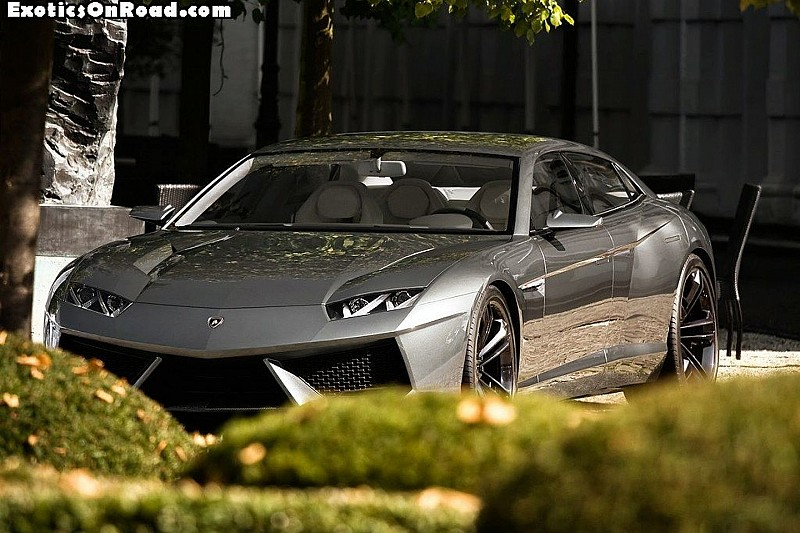 Lamborghini Estoque Concept Spotted in Germany