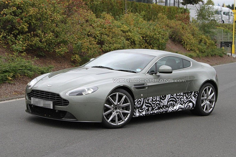 2013/2014 Aston Martin Vantage major facelift test mule spied