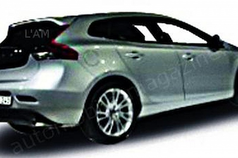 2013 Volvo V40 allegedly leaked
