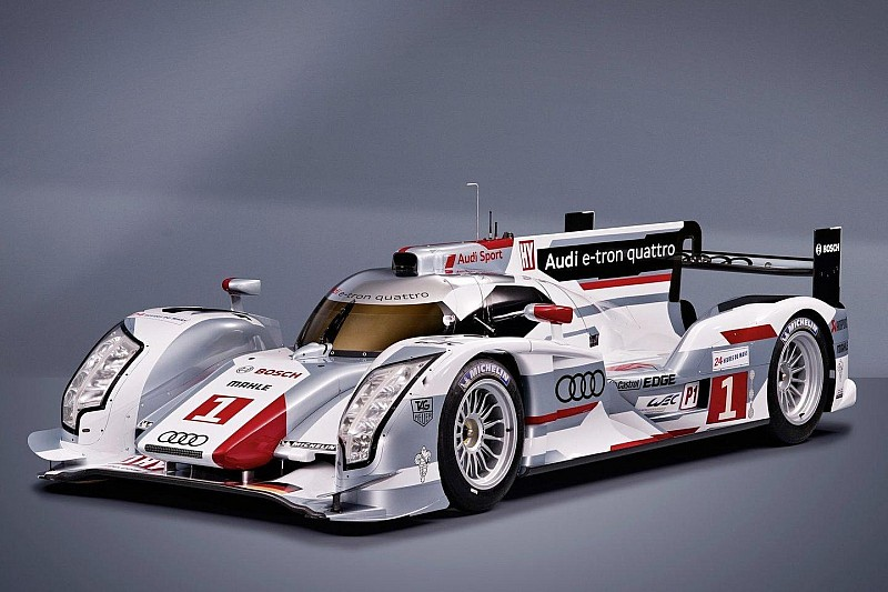 Audi R18 e-Tron hybrid quattro announced for Le Mans
