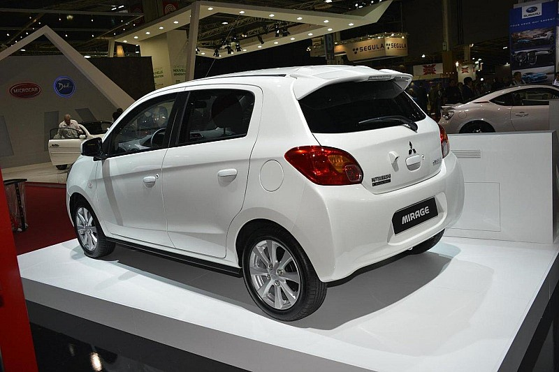 2013 Mitsubishi Mirage debuts in Paris