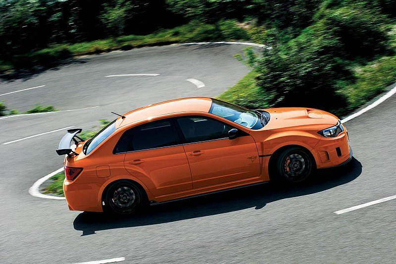 Subaru WRX STI tS Type RA introduced in Japan