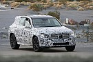 2015 Mercedes GLK spied in Death Valley