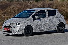 Facelifted Toyota Yaris spied once more