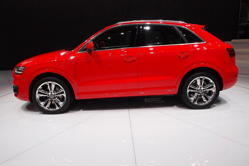 2015 Audi Q3 makes stateside debut in Detroit