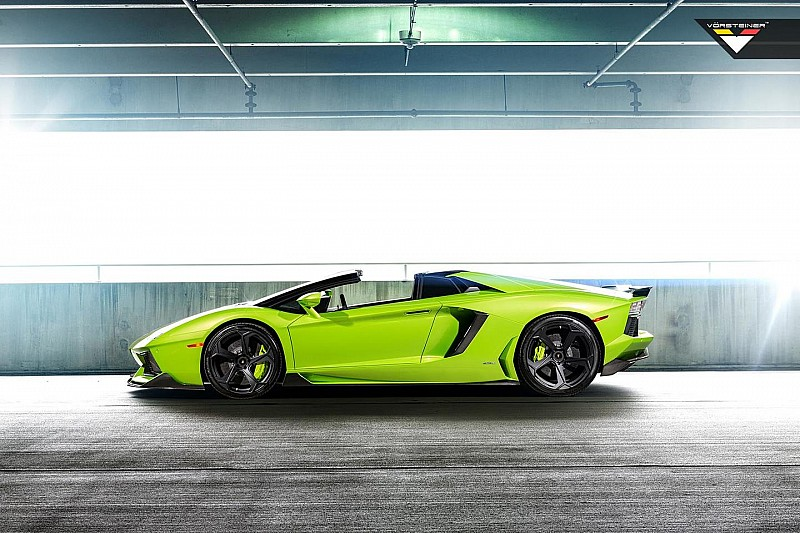 Vorsteiner shows off its Lamborghini Aventador-V Roadster aka 'The Hulk'