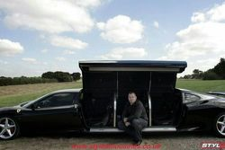 6 meter long stretched Ferrari 360 for sale
