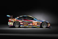 BMW M3 GT2 Art Car by Jeff Koons - Side
