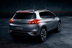 Peugeot Urban Crossover Concept 23.04.2012
