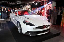 Aston Martin Vanquish launch party