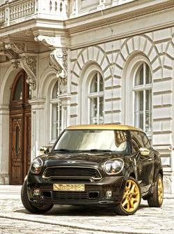 Life Ball MINI Paceman 2013 by Roberto Cavalli 27.05.2013