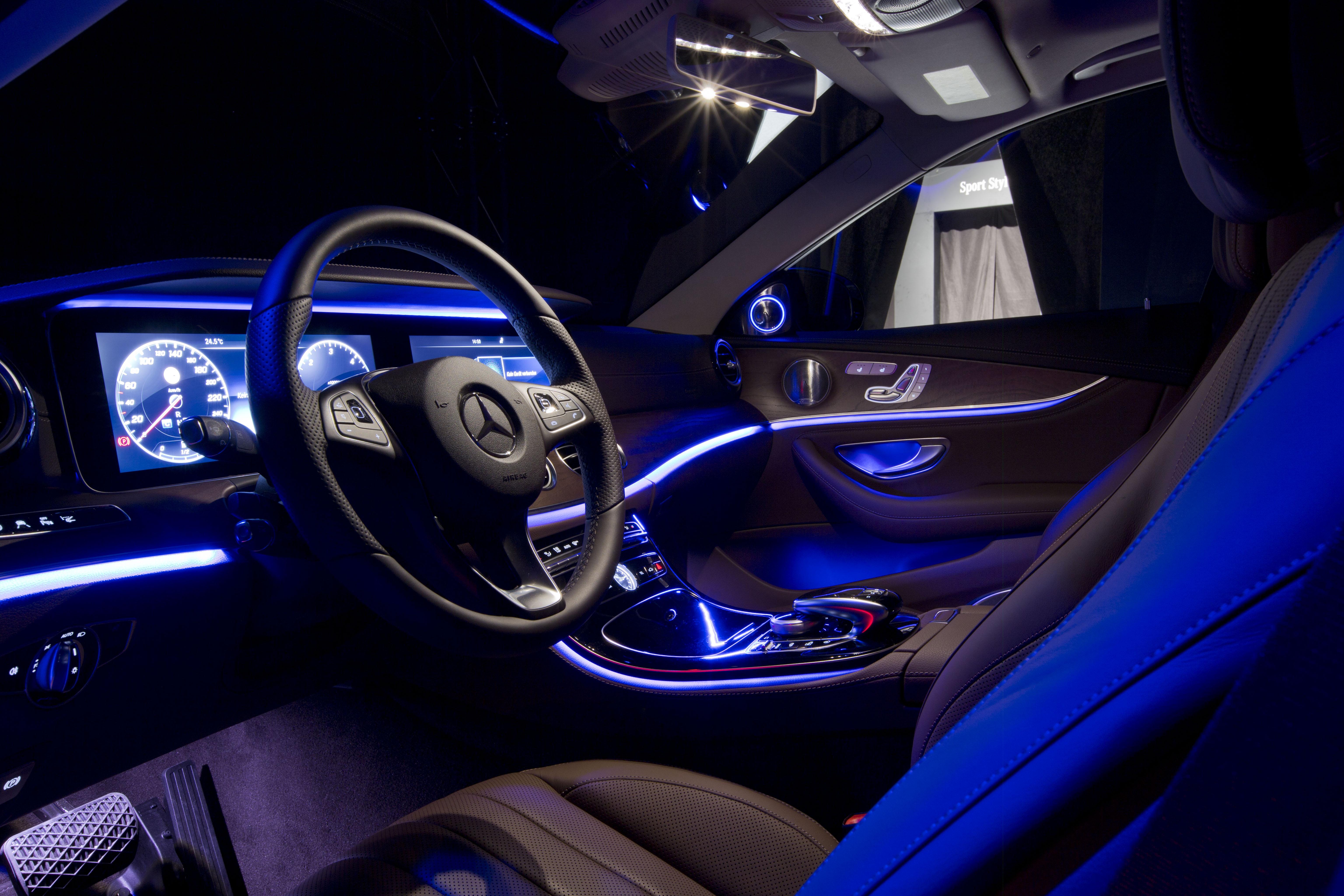mercedes benz e class interior ambient interior lighting