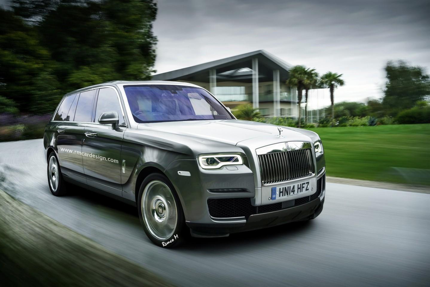 2017 - [Rolls-Royce] SUV Cullinan - Page 6 000